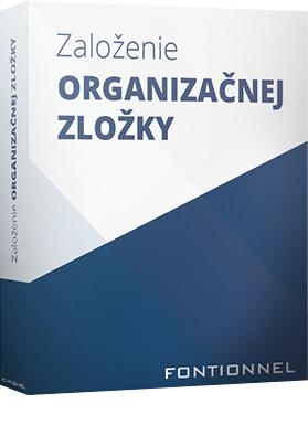 Založenie organizačnej zložky