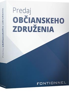 (Slovak) Predaj občianskeho združenia – o.z.