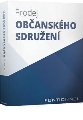 Prodej občanského sdružení – o.z.